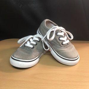 Toddler Boy Gray Vans